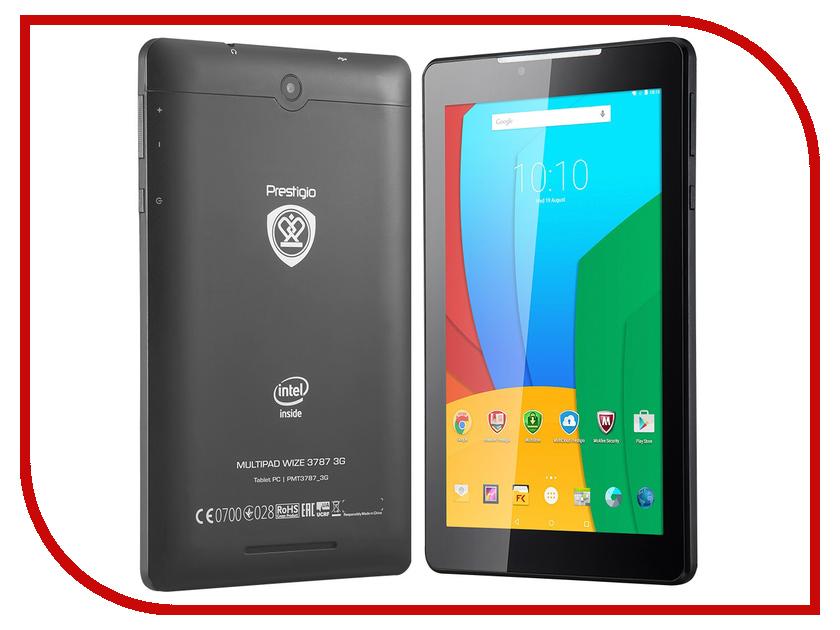 Планшет Prestigio MultiPad WIZE PMT3787 3G Dark Grey (Intel Atom x3-C3230RK 1.1 GHz/1024Mb/16Gb/3G/Wi-Fi/Cam/7.0/1280x800/Android)<br>
