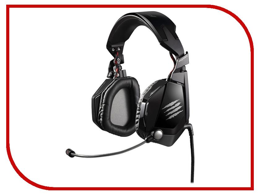 Гарнитура Mad Catz F.R.E.Q. 5 Black MCB434030002/02/1<br>