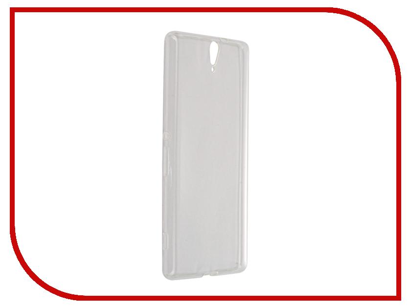 Аксессуар Чехол Sony Xperia C5 Ultra E5506/E5533 Svekla Transparent SV-SOE5506-WH<br>
