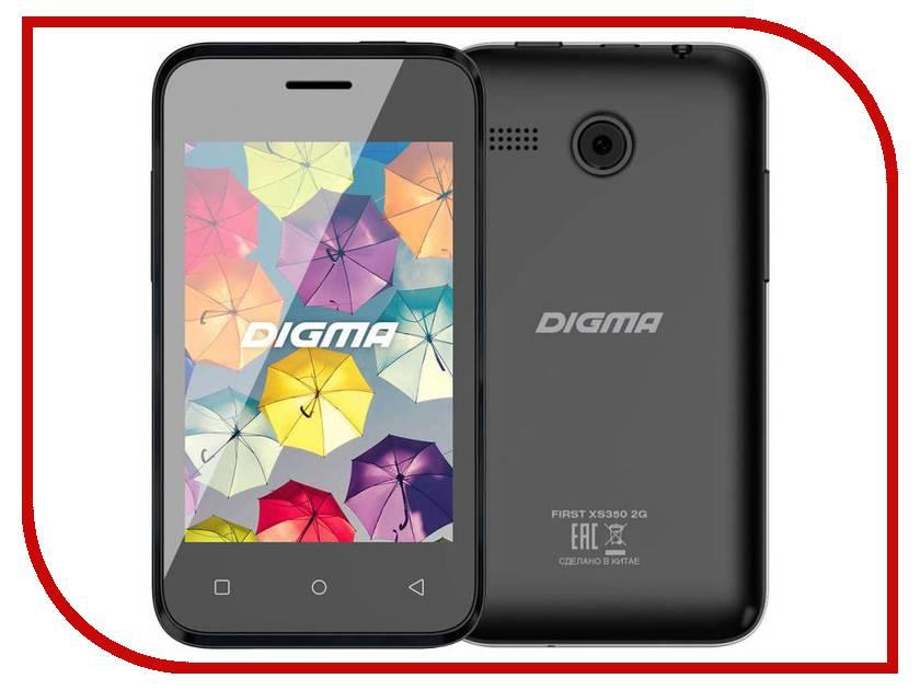 Сотовый телефон Digma First XS350 2G Black сотовый телефон digma citi atl 4g white