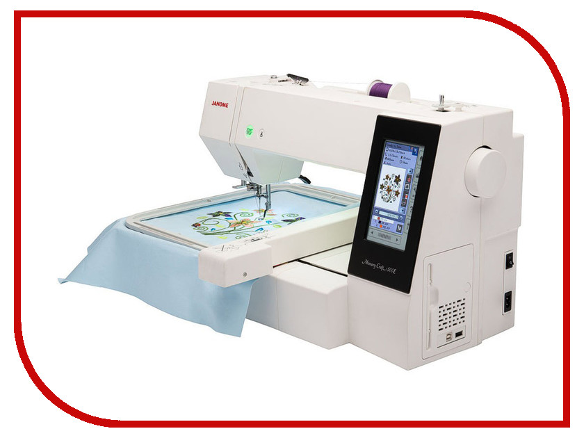 Швейная машинка Janome Memory Craft 500E  janome horizon memory craft 8200 qc