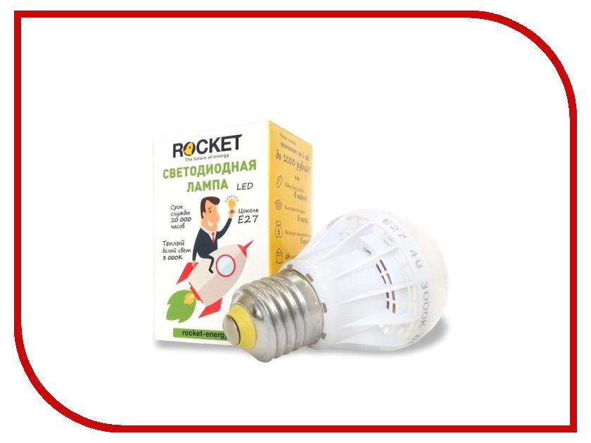 Лампочка Rocket 4W 3000K E27 R4w3000e27<br>