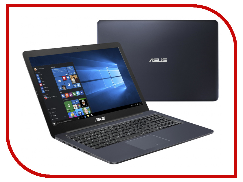 Ноутбук ASUS E502SA-XO014T 90NB0B72-M01950 (Intel Celeron N3050 1.6 GHz/2048Mb/500Gb/No ODD/Intel HD Graphics/Wi-Fi/Bluetooth/Cam/15.6/1366x768/Windows 10)<br>