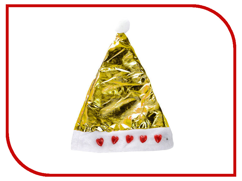 Новогодний сувенир Snowmen Шапка Снегурочки Е50846 Gold<br>