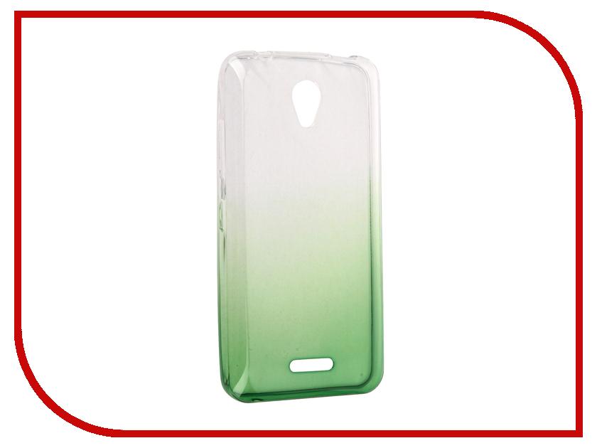 Аксессуар Чехол Lenovo A1010 IQ Format Green<br>