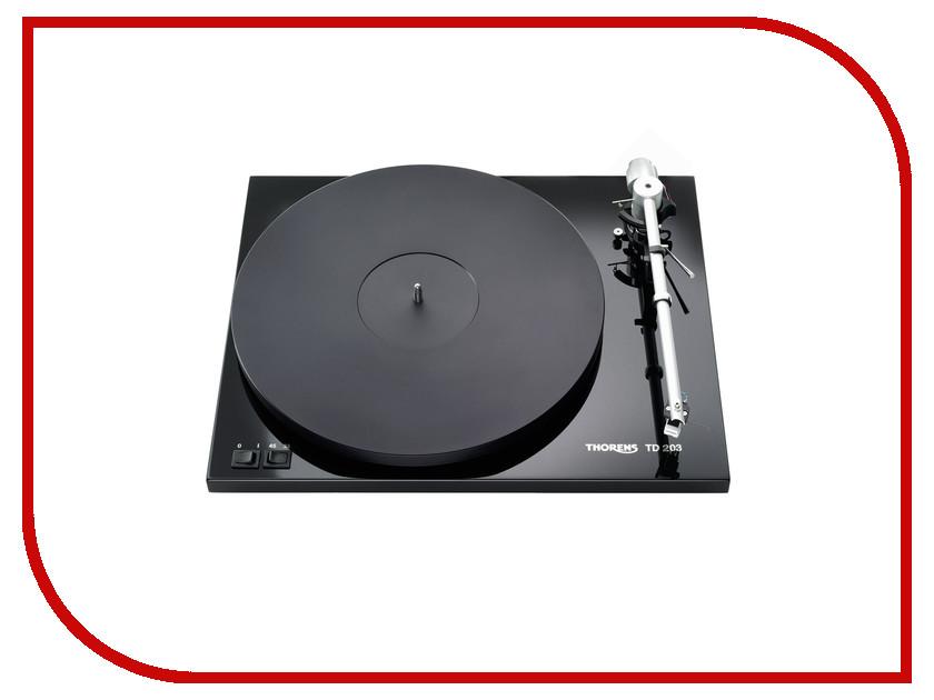 Проигрыватель виниловых дисков Thorens TD-203 High Gloss Black