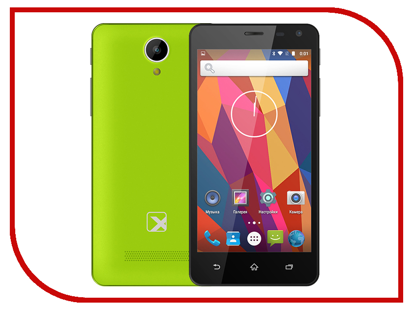 Сотовый телефон teXet TM-5003 Lime<br>