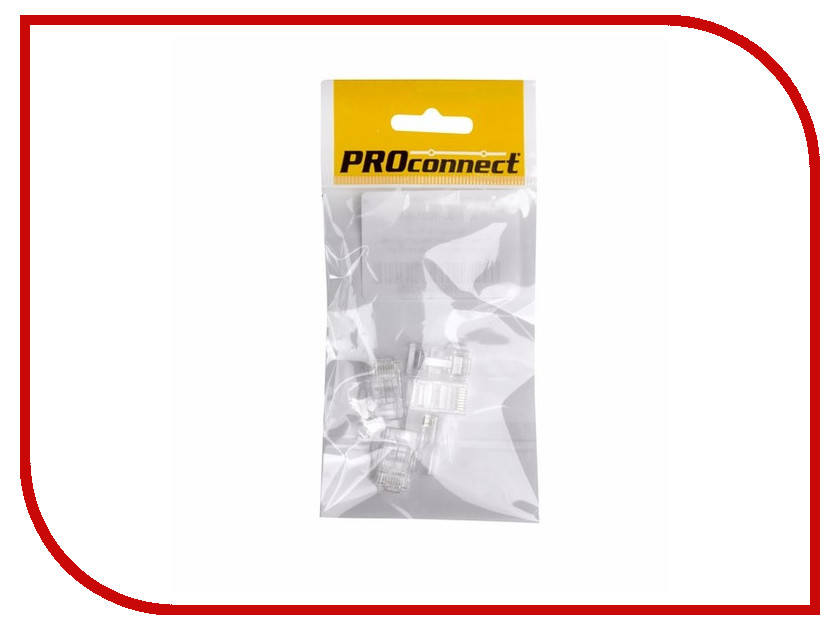 ProConnect - Коннектор ProConnect 8P8C cat.5e 05-1021-6-9 (5 штук)