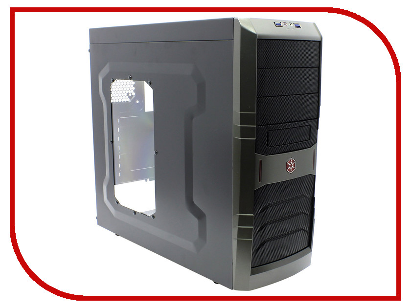 Корпус SilverStone Case Ss RedLine SST-RL01B-W<br>