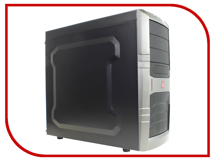 Корпус SilverStone Case Ss RedLine SST-RL01B<br>