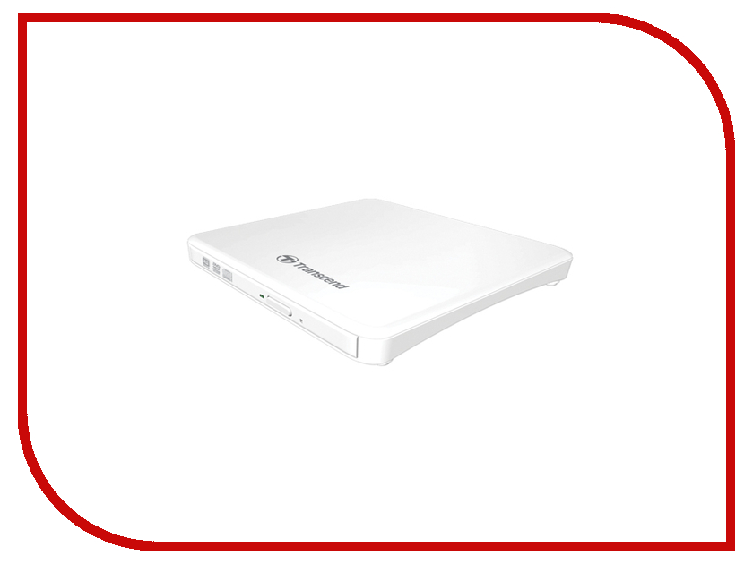 Привод Transcend TS8XDVDS-W Slim Portable White<br>
