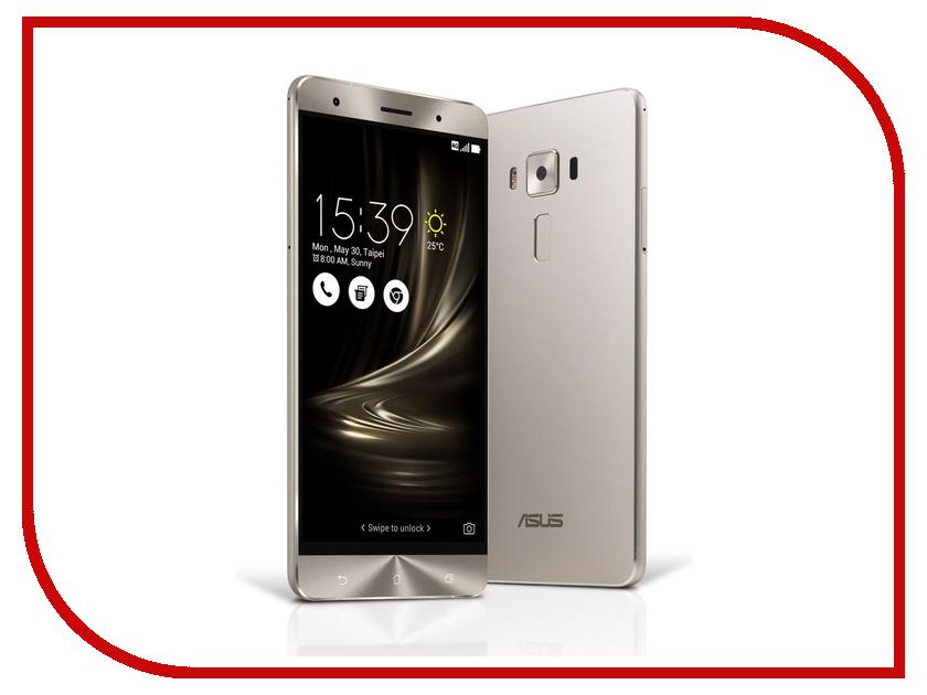 Сотовый телефон ASUS ZenFone 3 Deluxe ZS550KL 64Gb Silver сотовый телефон asus zenfone 3 max zc553kl 32gb silver