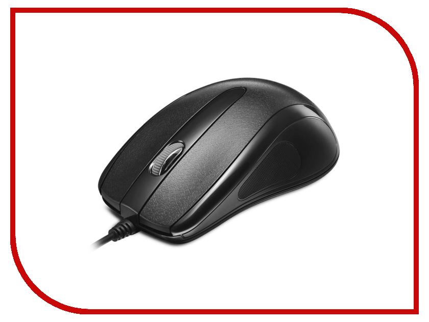 Мышь Delux DLM-395OUB Black