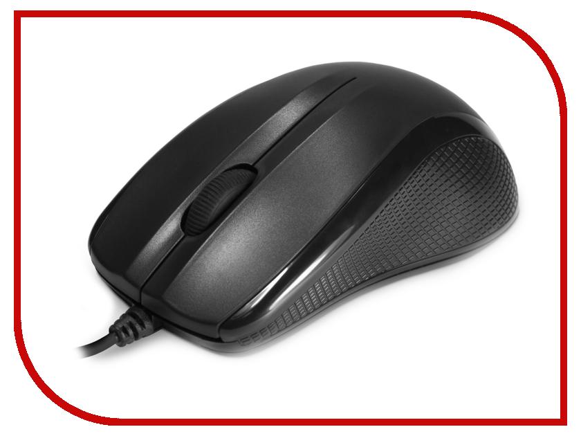 Мышь проводная Delux DLM-388OUB Black