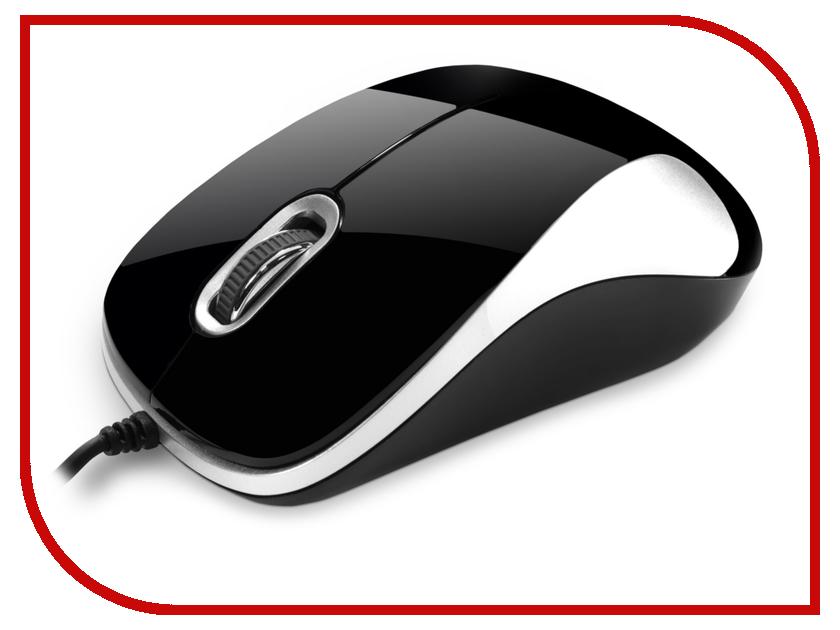 Мышь проводная Delux DLM-377OGQ Black-Silver<br>