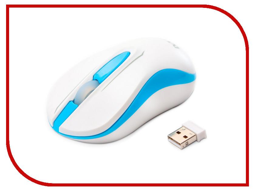 Мышь беспроводная Delux DLM-137OGW White