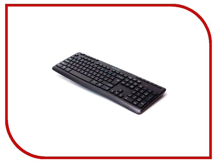 Клавиатура беспроводная Delux DLK-06GB Black<br>