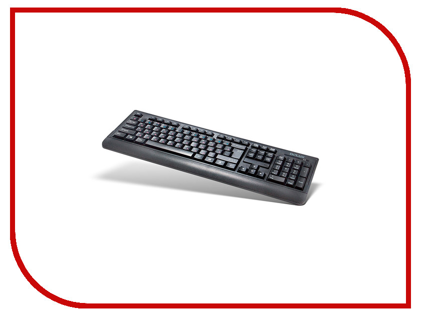 Клавиатура беспроводная Delux DLK-6010GB Black