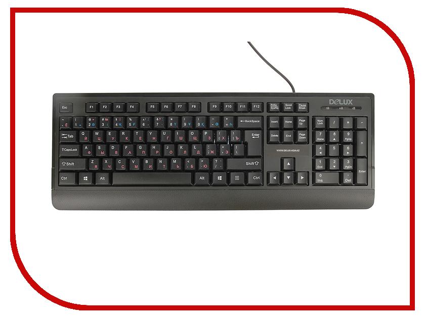 Клавиатура Delux DLK-6010UB Black