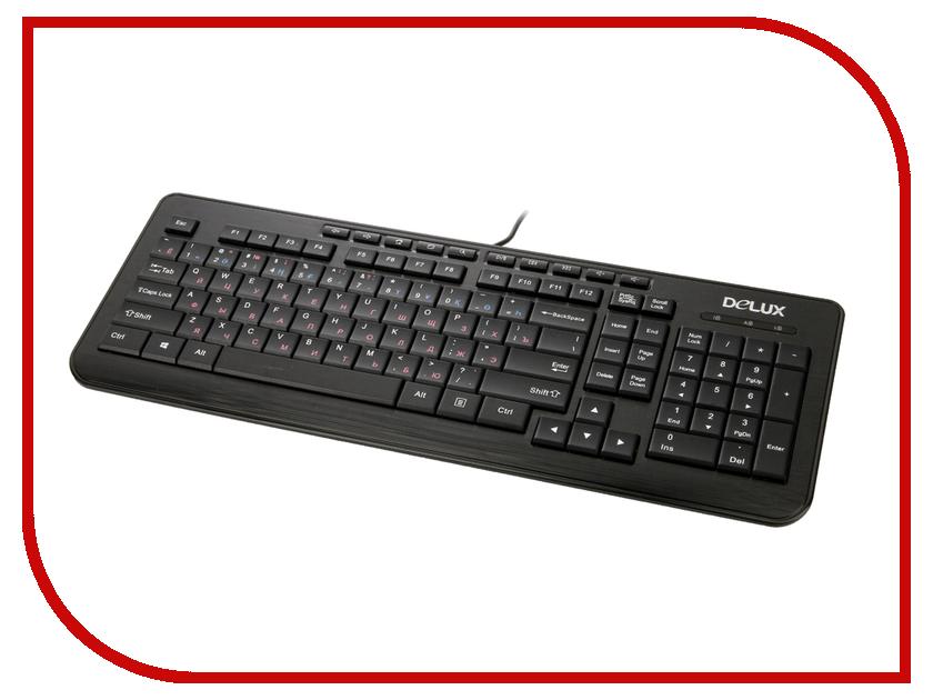 Клавиатура Delux DLK-3100UB Black<br>