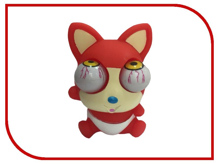 Игрушка антистресс Foshan Лупоглазы Красный лисенок 4702<br>