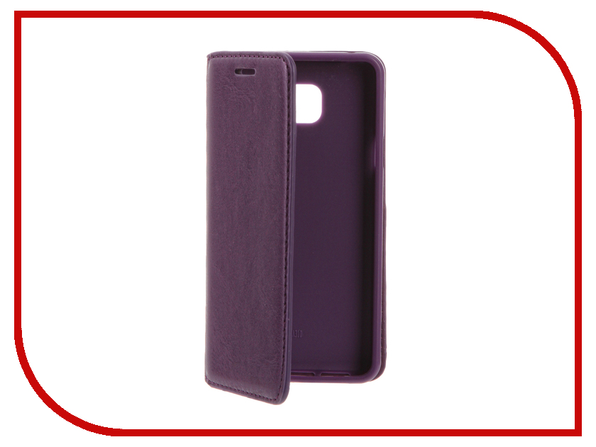 Аксессуар Чехол Samsung Galaxy A3 (2016) Cojess Book Case New Violet с визитницей аксессуар чехол samsung galaxy a3 2017 cojess tpu 0 5mm transparent
