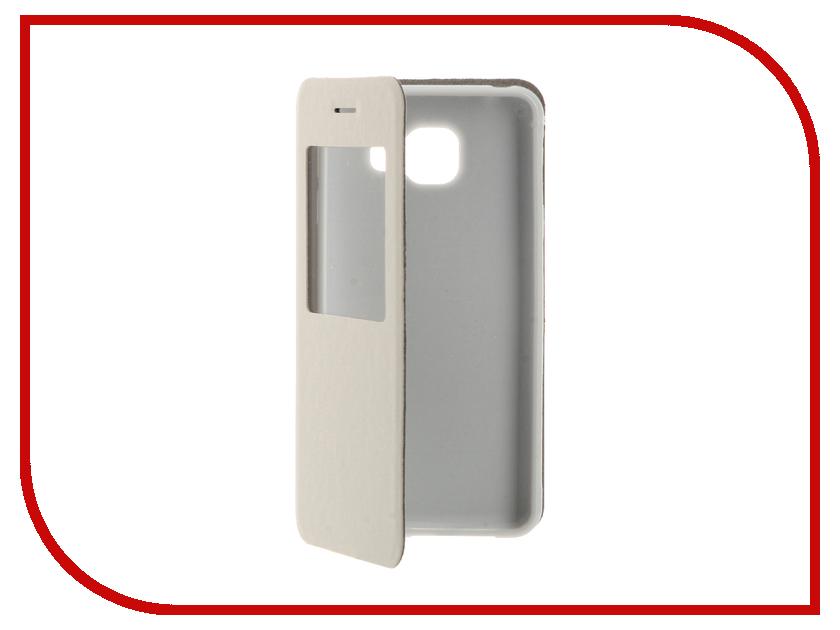 Аксессуар Чехол Samsung Galaxy A3 (2016) Cojess Book Case Time White с окном