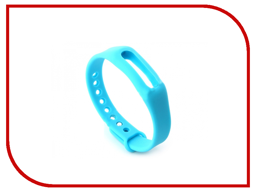 Aксессуар Ремешок QStar для QS Myday 01 Blue<br>
