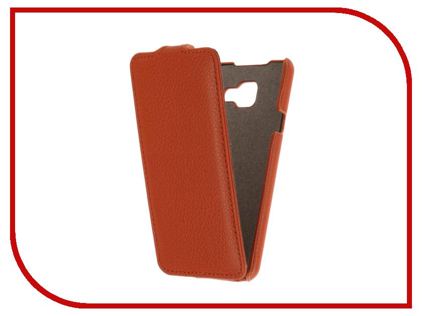 Аксессуар Чехол Samsung Galaxy A3 (2016) Cojess UpCase Orange<br>