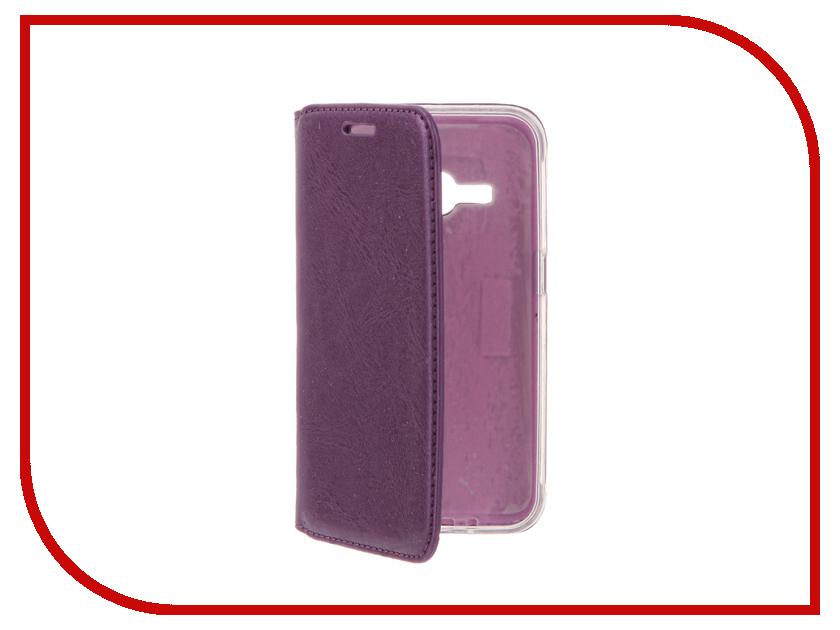 Аксессуар Чехол Samsung Galaxy J1 (2016)/J120F/DS Cojess Book Case New Violet с визитницей<br>