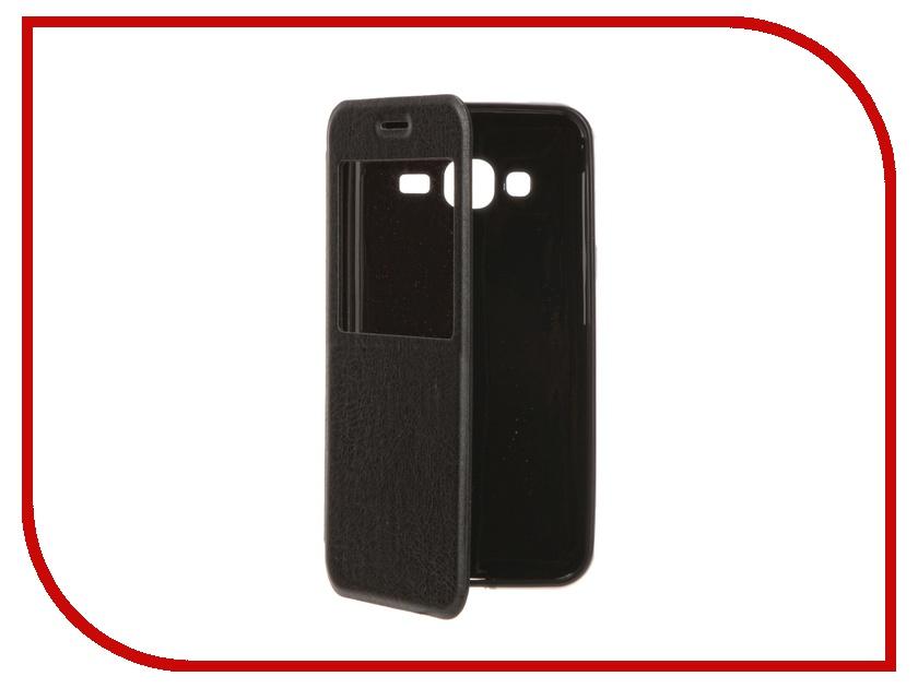 Аксессуар Чехол Samsung Galaxy J3 / J3 (2016) Cojess Book Case Time Black аксессуар чехол samsung galaxy a3 2016 cojess book case time black с окном