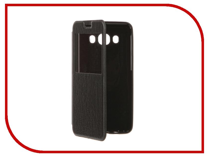 Аксессуар Чехол Samsung Galaxy J5 (2016) Cojess Book Case Time Black аксессуар чехол samsung galaxy a3 2017 cojess tpu 0 3mm transparent