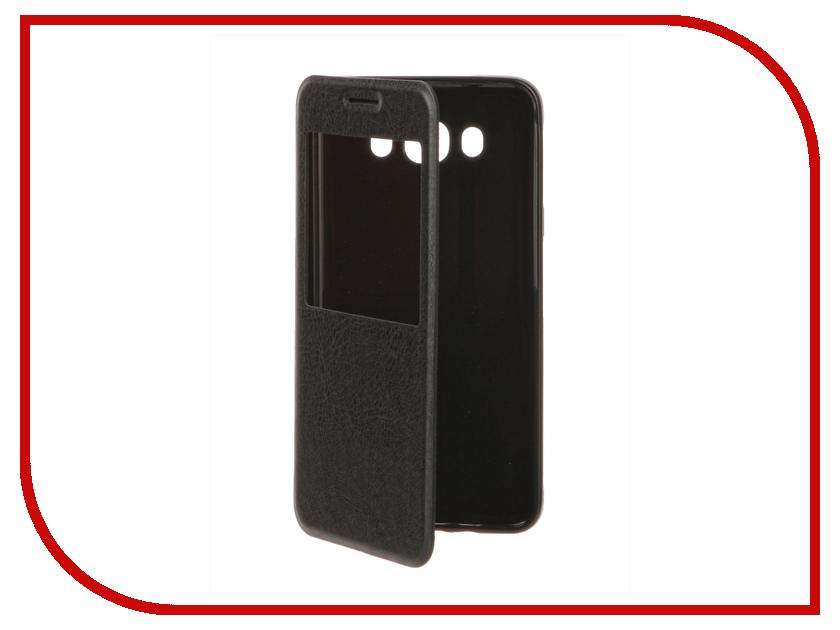Аксессуар Чехол Samsung Galaxy J7 (2016) Cojess Book Case Time Black<br>