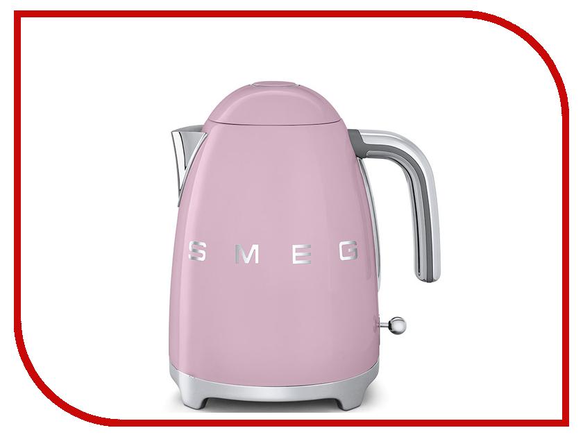 Чайник Smeg KLF01PKEU smeg klf02pgeu чайник электрический pastel green