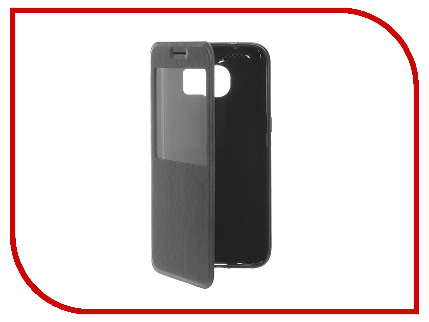 Аксессуар Чехол Samsung Galaxy S7 Edge Cojess Book Case Time Black<br>