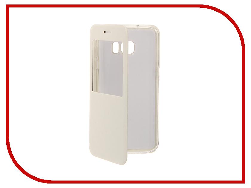 Аксессуар Чехол Samsung Galaxy S7 Edge Cojess Book Case Time White аксессуар чехол samsung galaxy a3 2016 cojess book case time black с окном