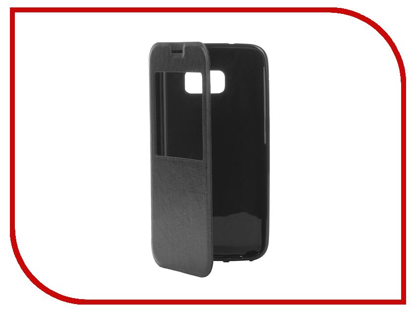 Аксессуар Чехол Samsung Galaxy S7 Cojess Book Case Time Black аксессуар чехол samsung galaxy a3 2017 cojess tpu 0 3mm transparent