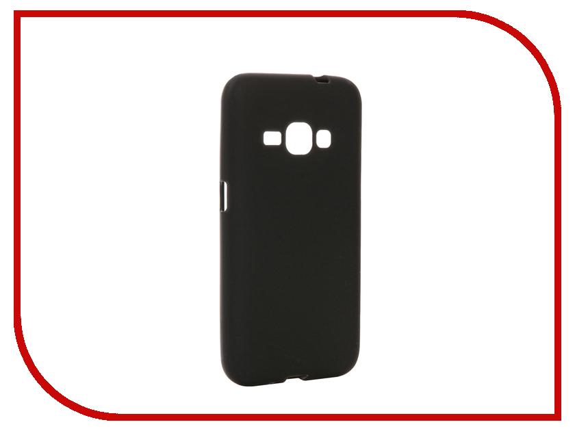 Аксессуар Чехол Samsung Galaxy J1 (2016)/J120F/DS Cojess TPU 0.8mm Black матовый аксессуар чехол samsung galaxy a3 2017 cojess tpu 0 3mm transparent