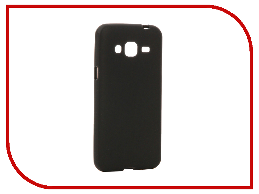 Аксессуар Чехол Samsung Galaxy J3 / J3 (2016) Cojess TPU Black матовый<br>