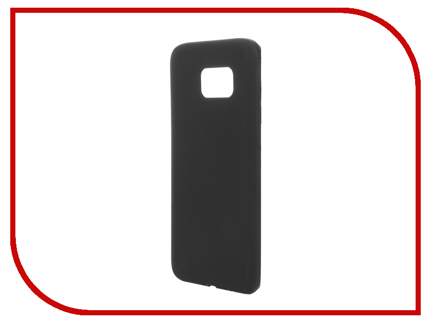 Аксессуар Чехол Samsung Galaxy S7 Edge Cojess Silicone TPU 0.8mm Black матовый аксессуар чехол samsung galaxy s7 plus cojess silicone tpu 0 3mm transparent глянцевый