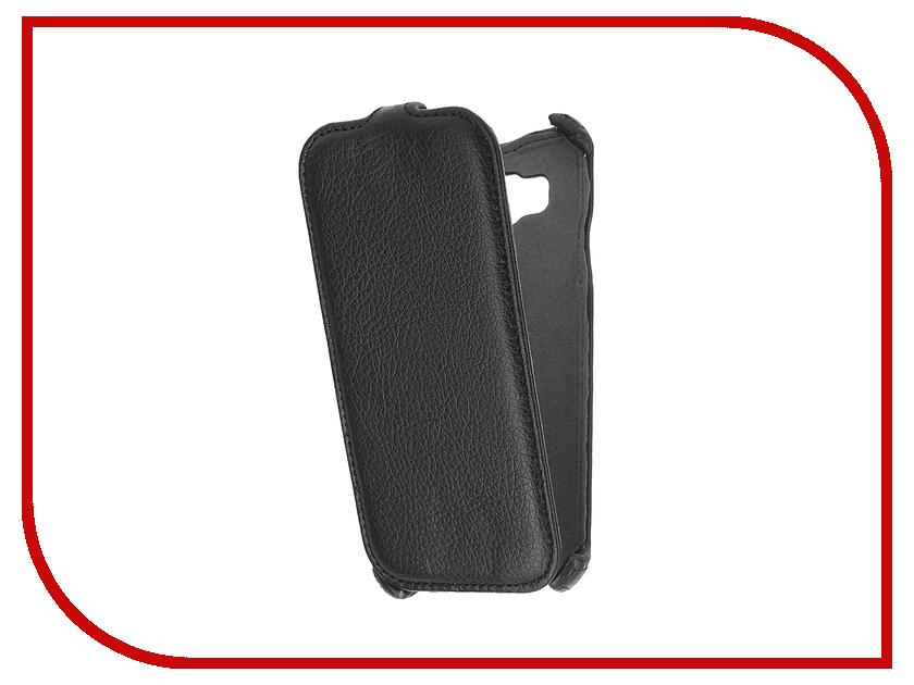 Аксессуар Чехол Samsung Galaxy E5 iBox Premium Black<br>