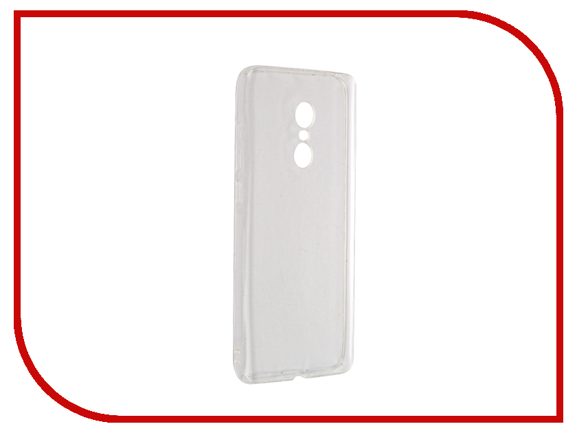 Аксессуар Чехол для Xiaomi Redmi Note 4 iBox Crystal Transparent аксессуар аксессуар чехол для xiaomi note 4 onext silicone transparent 70501