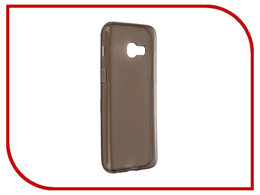 Аксессуар Чехол Samsung Galaxy A3 2017 iBox Crystal Grey аксессуар чехол htc desire 825 ibox crystal grey