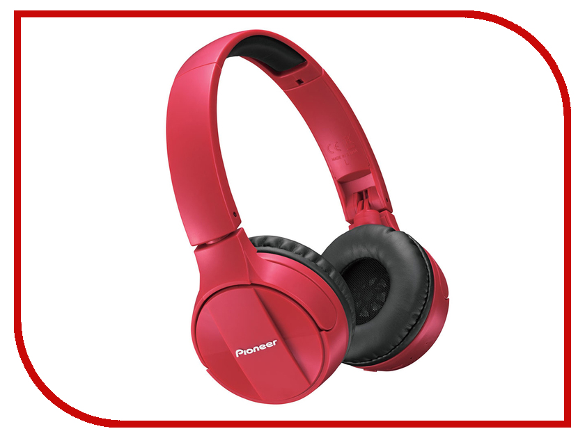 Pioneer SE-MJ553BT Red