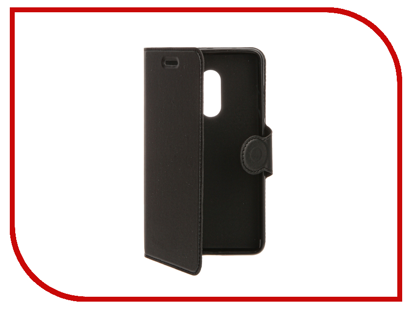 Аксессуар Чехол для Xiaomi Redmi Note 4 Red Line Book Type Black УТ000010110 чехол книжка red line book type для xiaomi redmi 5 black
