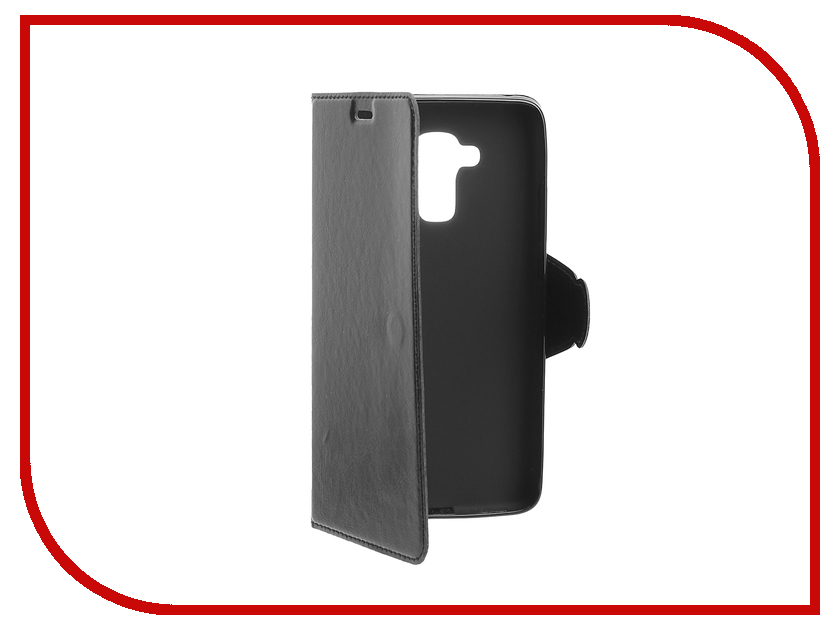Аксессуар Чехол Huawei Honor 5C Red Line Book Type Black<br>