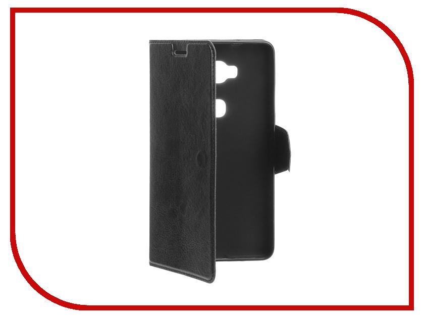 Аксессуар Чехол Huawei Honor 5X Red Line Book Type Black<br>