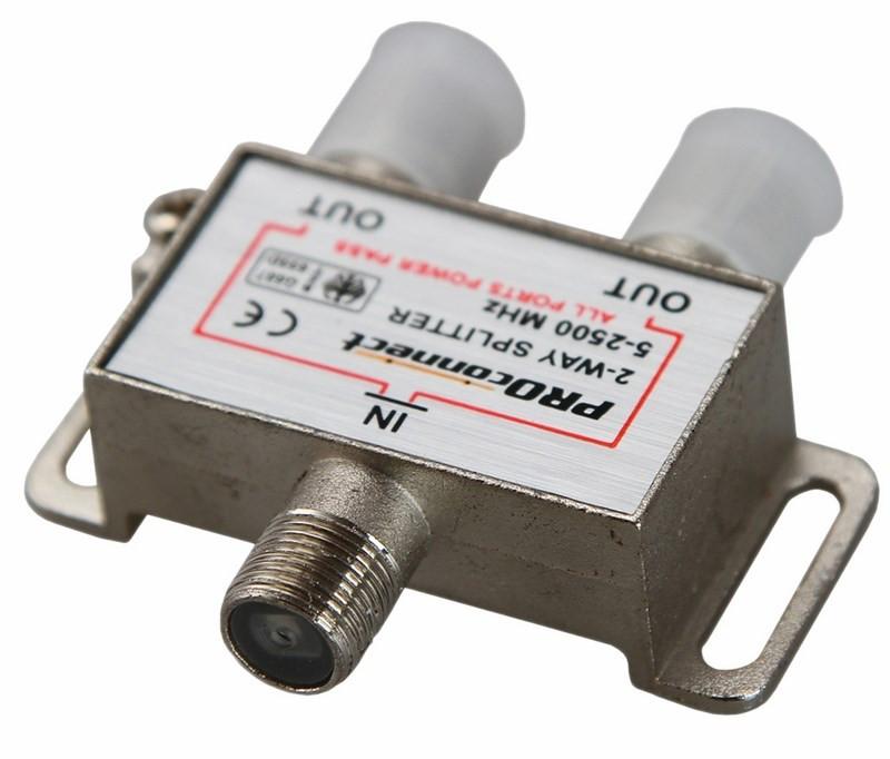 Сплиттер ProConnect 2500 Спутник 05-6201-4-9 разъем proconnect bnc 05 3073 4 9