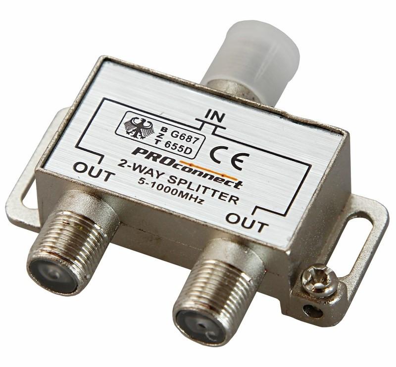 Сплиттер ProConnect 5-1000 MHz 05-6021-9