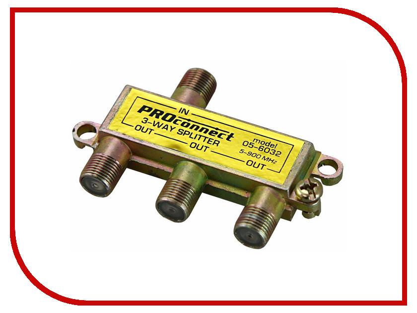 Сплиттер ProConnect 5-900 MHz 05-6032-9 вытяжка jet air aurora lx grx f 50